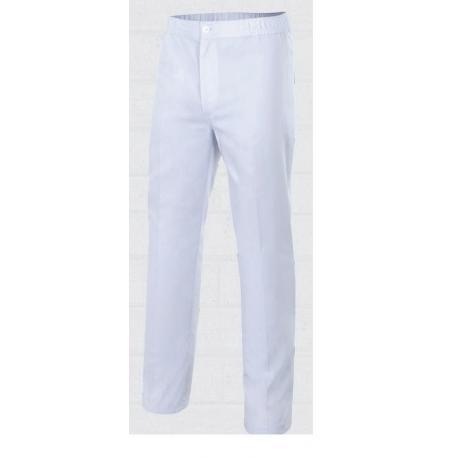 Pantalón blanco de caballero para panadería