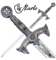 Espada Caballeros Templarios Plata