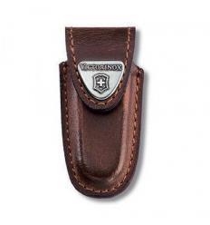 Leather case for pocket knife belt