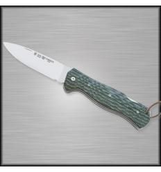 Knife Miguel Nieto survival combat canvas micarta