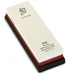 Sharpening stone Kai combined double-side (grain 1000 and 6000)