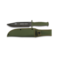 Knife Tactical green. Blade: 18 cm