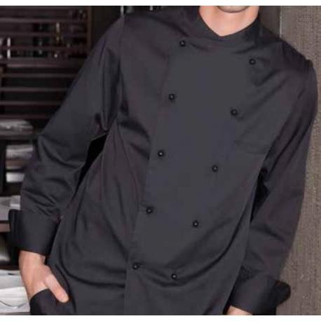Chaqueta cocina negra