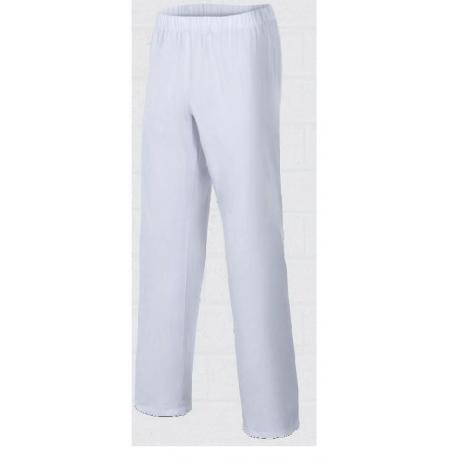 White pants of the lady for bakery