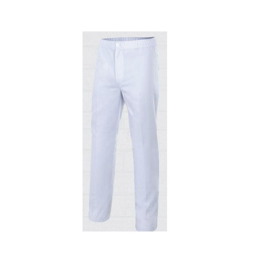 521c46058 Pantalón blanco de caballero para panadería - Cuchillería Las Burgas