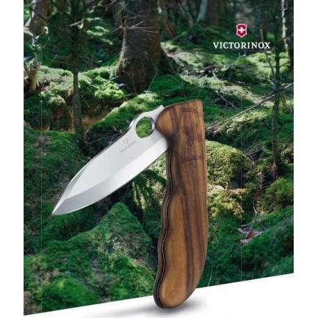 Canivete Victorinox Hunter Pro Madeira C/ Luva