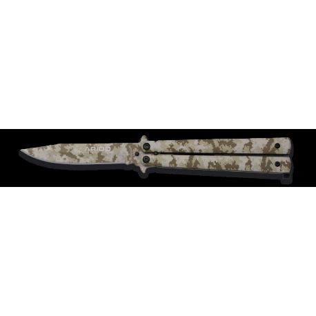 Abanicco Albabinox camo arido .H10cm