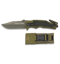Knife tactical K25 color green and Black