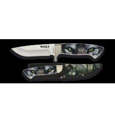 Cuchillo Lobo 3D