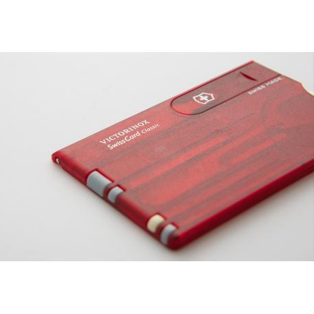 Tarjetas Swisscard Classic Roja 0.7100.T