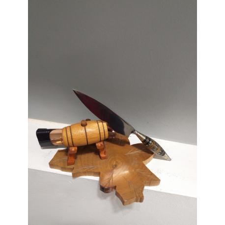 Cuchillo Canario Artesano 11cm