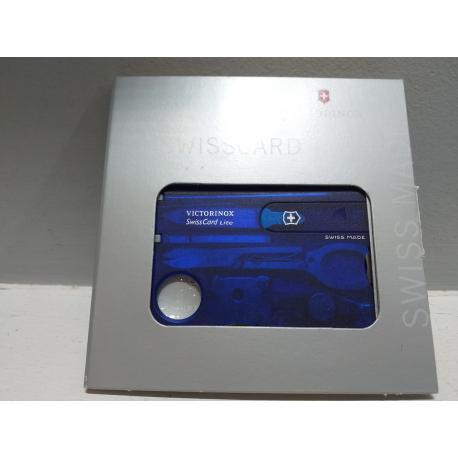 Swisscard Lite azúl