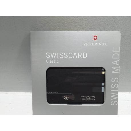Targeta swisscard classic negra 0.7133.T3