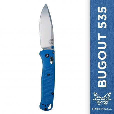 Navaja Benchamade Bugout blue 535