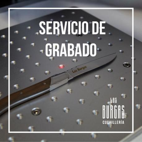 Servicio de grabado