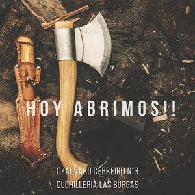⠀⠀⠀⠀⠀⠀⠀⠀⠀ Hoy abrimos, si hoy domingo💯📆❗ ⠀⠀⠀⠀⠀⠀⠀⠀⠀ Os esperamos en nuestra tienda🏘de Álvaro Cebreiro N°3(al lado de la calle real) 🎁 ⠀⠀⠀⠀⠀⠀⠀⠀⠀ ¿Vienes a pasar este Domingo a nuestra querida #Coruña? 😍 👉Ven a visitarnos 👉Ven a hacer tus compras#cuchillerialasburgas #coleccionismo #experiencia #cocineros #calidad #reyesmagos #regalosnavidad #navidad #navajasuiza #cuchillodemonte #cuchillos #knife #knives #knifefanatic #cuchillosarcos #3claveles #miguelnieto #victorinox #artesania #taramundi #taramundiknives #böker #bokerknives #leathermanespaña