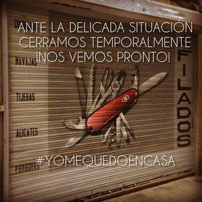 ⠀⠀⠀⠀⠀⠀⠀⠀⠀ Cuchillería Las Burgas, comunica el cierre temporal ante esta situación tan delicadaLo hacemos como medida de responsabilidad social ante la propagación del virus COVID-19. ⠀⠀⠀⠀⠀⠀⠀⠀⠀ No duden en ponerse en contacto con nosotros, tenemos nuestros teléfonos disponibles, al e-mail info@cuchillerialasburgas.es y nuestra página web www.cuchillerialasburgas.com, seguimos atendiendo vuestros pedidos y sirviendolos como siempre ⠀⠀⠀⠀⠀⠀⠀⠀⠀ ¡Lo vamos a superar juntos! ⠀⠀⠀⠀⠀⠀⠀⠀⠀ #yomequedoencasa #cuchillerialasburgas #experiencia #calidad #tiendaonline #coronavirusespaña #precaución